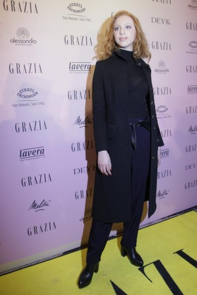 GRAZIA POP UP Anna Ermakova - Grazia Brunch im Rahmen der  Mercedes-Benz Fashion Week Berlin Herbst / Winter 2016 / Autumn / Winter 2016  im /at Grosz Kurfürstendamm  Berlin   Copyright: Eventpress Anthes  Datum 20.01.2016
