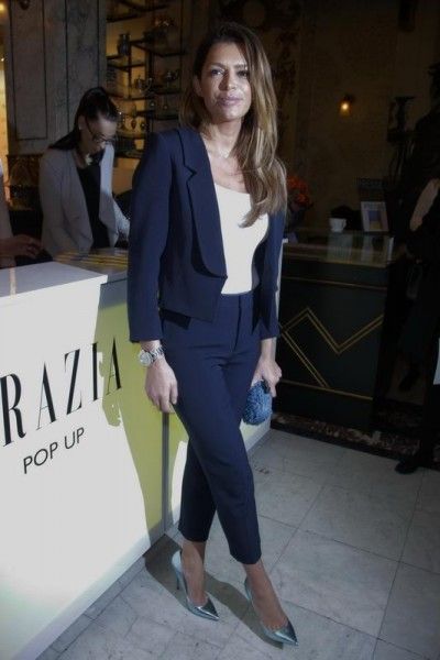 GRAZIA POP UP Sabia Bouhlarouz - Grazia Brunch im Rahmen der  Mercedes-Benz Fashion Week Berlin Herbst / Winter 2016 / Autumn / Winter 2016  im /at Grosz Kurfürstendamm  Berlin   Copyright: Eventpress Anthes  Datum 20.01.2016