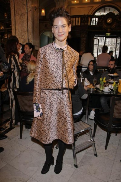 GRAZIA POP UP Bibliana Beglau - Grazia Brunch im Rahmen der  Mercedes-Benz Fashion Week Berlin Herbst / Winter 2016 / Autumn / Winter 2016  im /at Grosz Kurfürstendamm  Berlin   Copyright: Eventpress Anthes  Datum 20.01.2016