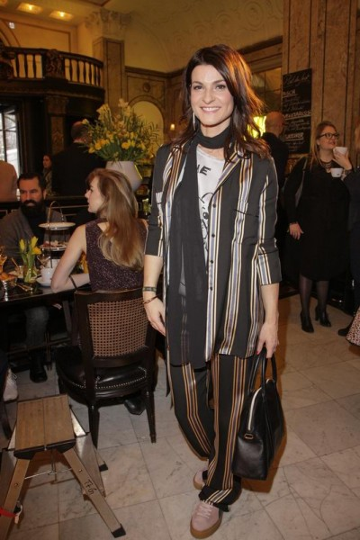 GRAZIA POP UP Marlene Lufen - Grazia Brunch im Rahmen der  Mercedes-Benz Fashion Week Berlin Herbst / Winter 2016 / Autumn / Winter 2016  im /at Grosz Kurfürstendamm  Berlin   Copyright: Eventpress Anthes  Datum 20.01.2016