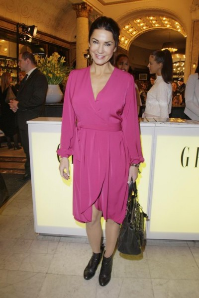 GRAZIA POP UP Mariella Ahrens - Grazia Brunch im Rahmen der  Mercedes-Benz Fashion Week Berlin Herbst / Winter 2016 / Autumn / Winter 2016  im /at Grosz Kurfürstendamm  Berlin   Copyright: Eventpress Anthes  Datum 20.01.2016