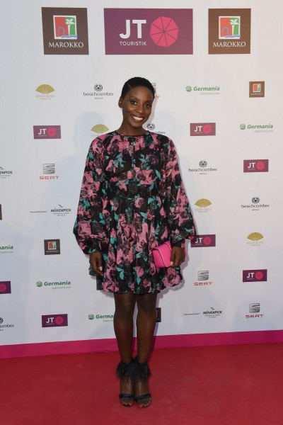 Marrakesch Abend im Pink Garden von JT Touristik in der JT Touristik Villa in Berlin am 07.09.2016 Nikeata Thompson  Marrakesch Abend im Pink Garden von JT Touristik in der JT Touristik Villa in Berlin am 07.09.2016 Foto: O.Walterscheid