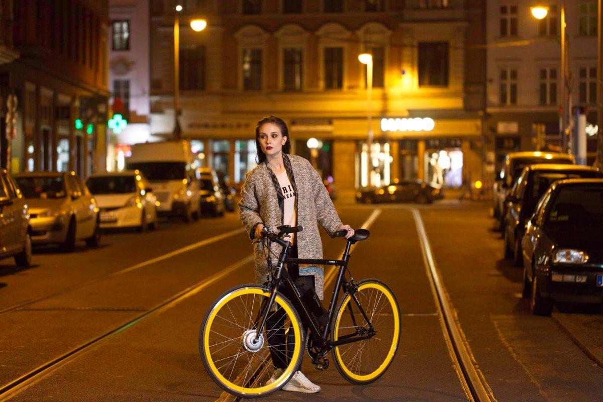 ... hier mit dem eTrack X vn Grünberg Bikes