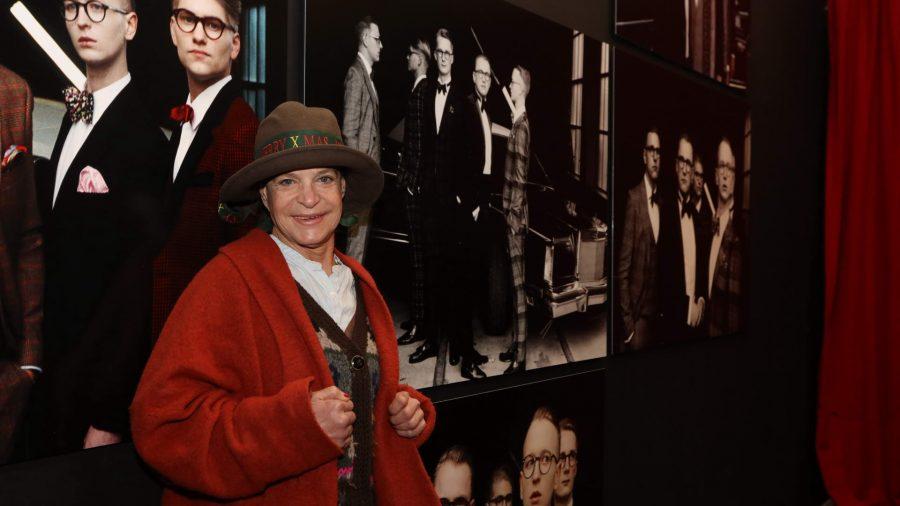 Barbara Engel Vernissage des diesjährigen Auerbach Kunstprojekts von Sven Marquardt in der POP-UP GALLERY in den Hackeschen Höfen, Hof 1 unter Anwesenheit des Künstlers.