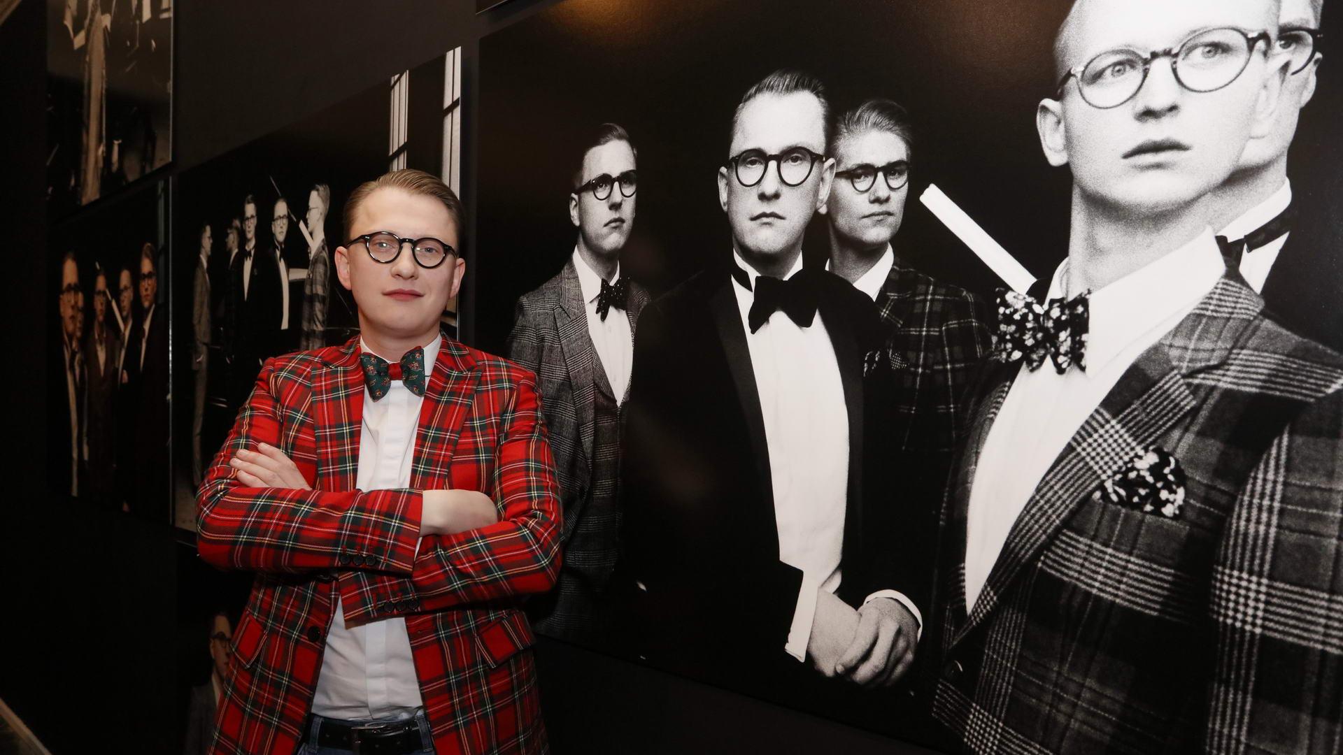 Jan Henrik Scheper Stuke Vernissage des diesjährigen Auerbach Kunstprojekts von Sven Marquardt in der POP-UP GALLERY in den Hackeschen Höfen, Hof 1 unter Anwesenheit des Künstlers.