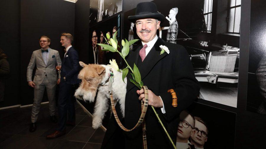 Henry de Winter Vernissage des diesjährigen Auerbach Kunstprojekts von Sven Marquardt in der POP-UP GALLERY in den Hackeschen Höfen, Hof 1 unter Anwesenheit des Künstlers.