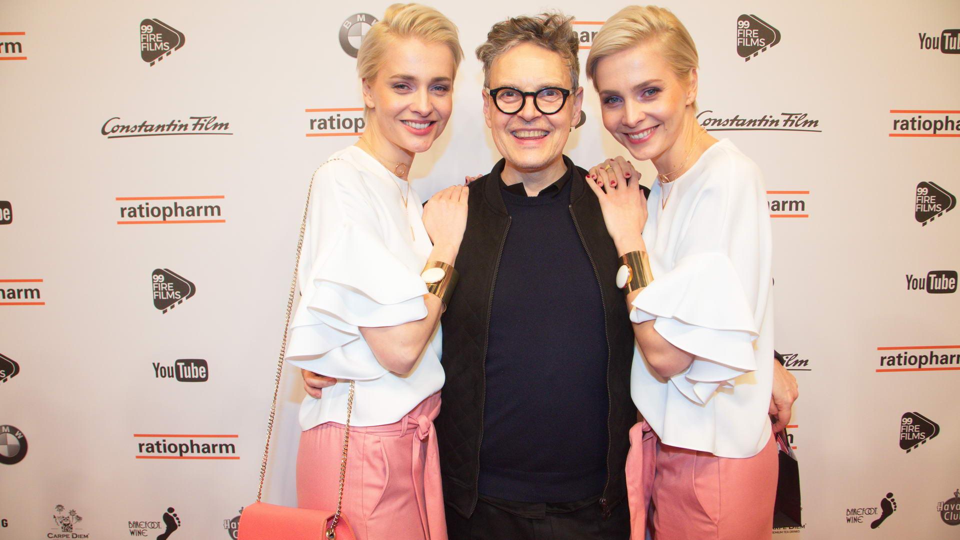 Die Heise Zwillinge mit Rolf Scheider @ 99 Fire-Films Award